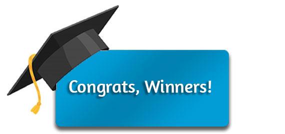 CTA: Congrats, Winners!