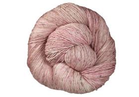 Madelinetosh TML + Tweed yarn Copper Pink (Solid)