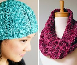 Creekside Cable Hat pattern