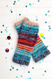 Madelinetosh High Five Wrist Warmers (crochet) Kit