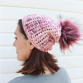 Jimmy Beans Wool Boobie Beanie Hat Kit kits Hakuna Matatas - Crochet