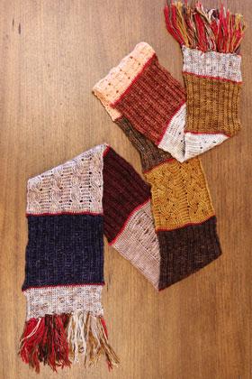 Jimmy Beans Wool Craftvent Calendar kits 2020 - Gingersnap Wrap - Cinnamon Sugar