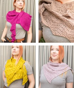 Lots of Beautiful Curl Shawls