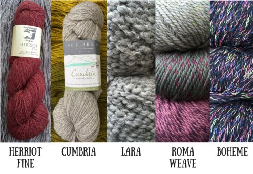 New Fall Yarns from Debbie Bliss, Juniper Moon and Fibre Company