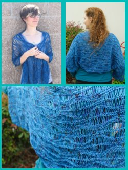 Deep Sea Shawl and Shrug