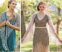 Dover and Spring Dream shawl patterns