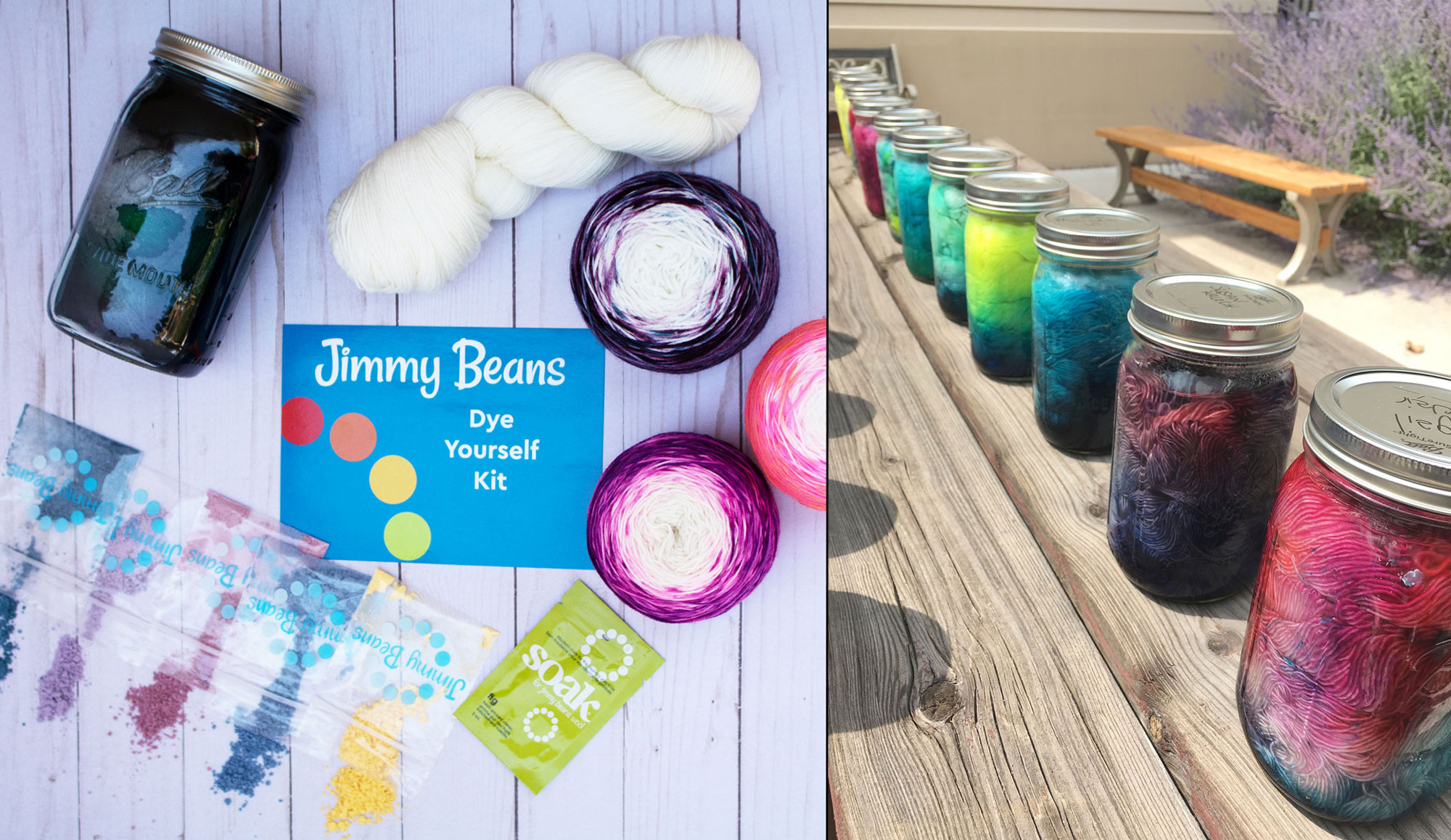 Jimmy Beans Wool Craft Class Kit - Dye Yourself