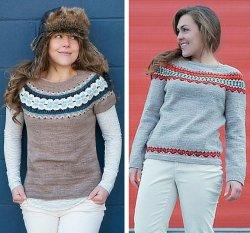 Ella and Ingrid pullover patterns