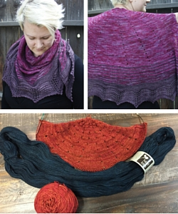 Emma's Baja Sunset Shawl