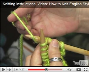 How to Knit English Style