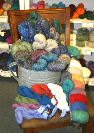 new fall yarns by Berroco