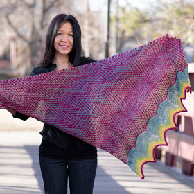 Fully Spun & Madelinetosh Flash Shawl Kit