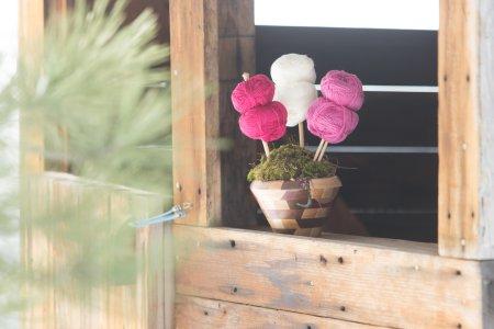 Rauma Finullgarn Flower Pot