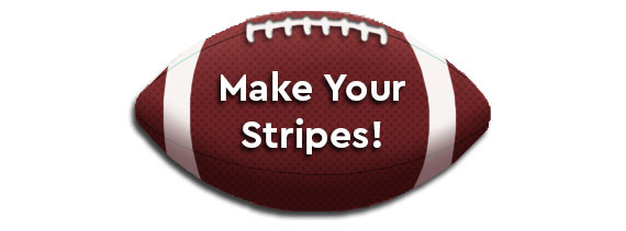 Knit Your Stripes Button