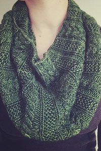 Madelinetosh Tosh Chunky Forest Park Cowl Kit