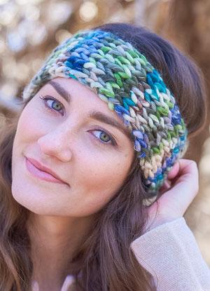 Fresia Headband Free Pattern