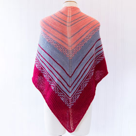 Gentle Tidings Shawl