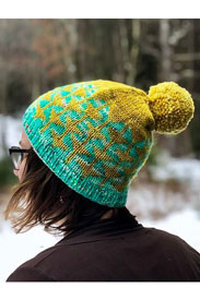 Madelinetosh Farm Twist Good Cheer Hat Kit