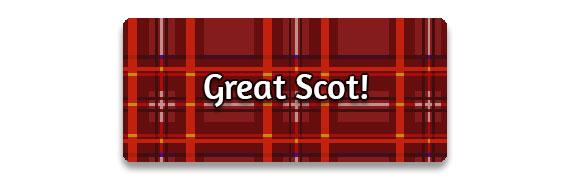 CTA: Great Scot!