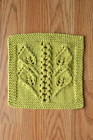 Universal Yarn Summer Leaves Cloths - Green
