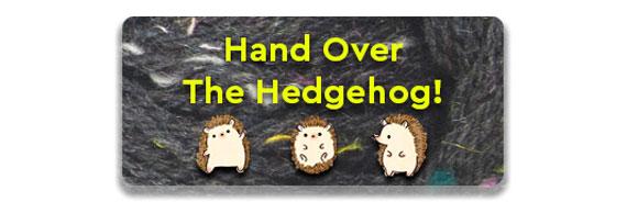 Hedgehog Tweedy Noir