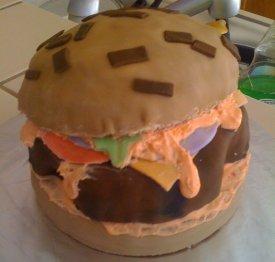 Hanna with cake