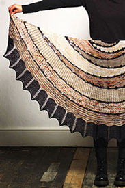 Hedgehog Fibres Exploration Station Shawl Kit