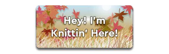 Hey! I'm Knittin' Here