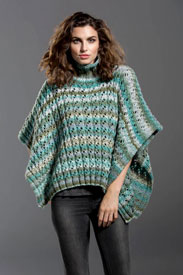 Hidden Treasure Poncho Free Pattern