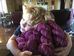 Huck with Huckleberries Yarn