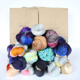 Fingering Mystery Yarn Grab Bags