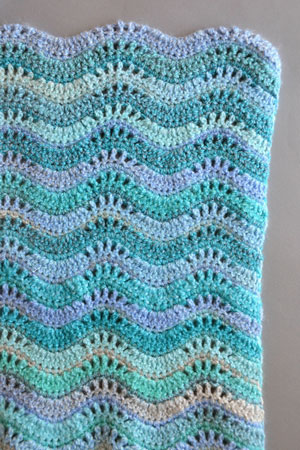 Inchworm Blanket Free Pattern