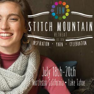 Jimmy Beans Wool and Rowan Stitch Mountain Retreat