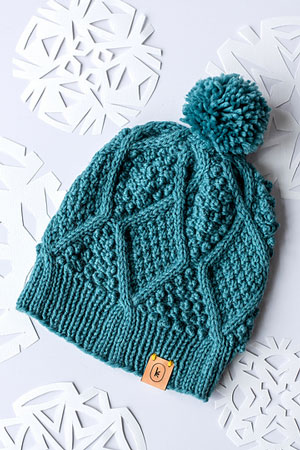 Year of Hats: January Hat Free Pattern