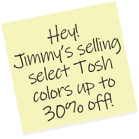 Jimmy's Tosh Sticky Note
