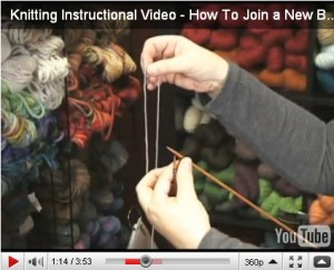 How to Join a New Ball of Yarn into Your Project