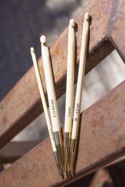 Tunisian Bamboo Hooks