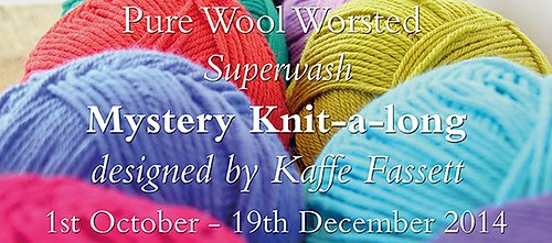 Pure Wool Worsted KAL with Kaffe Fassett