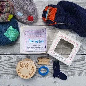 Katrinkles Darning and Mending Loom Kit Darning and Mending Loom Kit