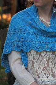 Madelinetosh Farm Twist Khione Shawl Kit