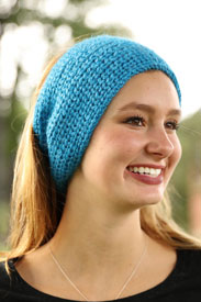 Plymouth Viento Knit Below Headband Kit