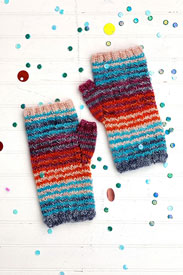 Madelinetosh High Five Wrist Warmers (knit) Kit