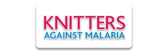 Knitter's Against Malaria Button