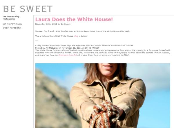 LauraDoesTheWhiteHouse