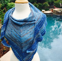 Zodiac and Calypso - available at Loops Knitting