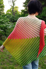 Freia Fine Handpaints Linear Moods Shawl Kit