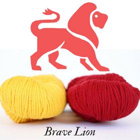 Brave Lion Wizard Scarf