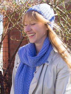 Longwood Blizzard Scarf and Hat Set