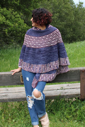 Madelinetosh Mad Bee Shawl (Fingering) Kit