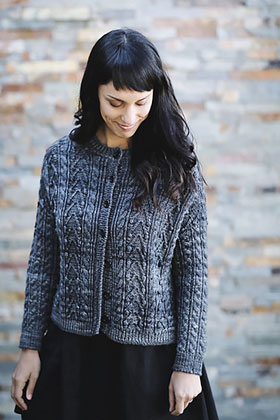 Madelinetosh Farm Twist Jacket Kit